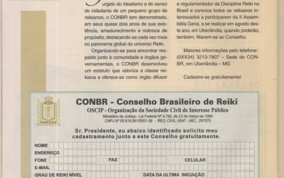 Diretoria do ConReiki – Conselho Internacional de Reiki recupera documentos do CONBR